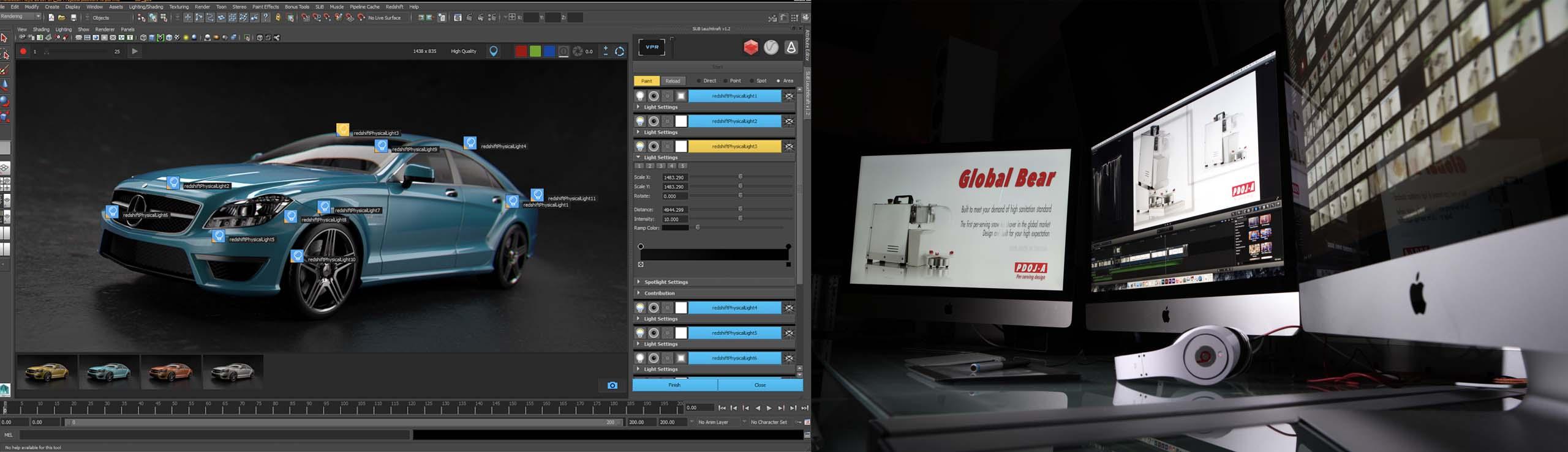 全虹用最新好萊塢軟硬體技術可為客戶打造出全4K畫質廣告影片