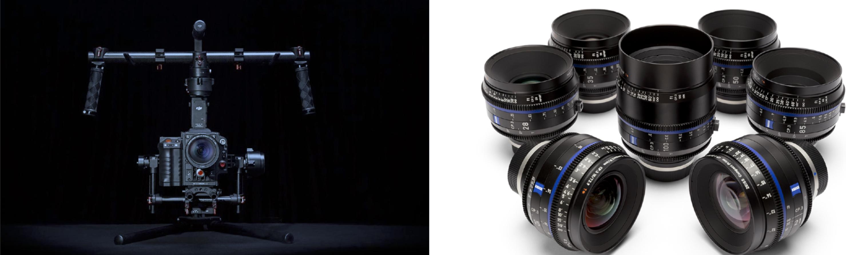 全虹製片用DJI INSPIRE系列4K空拍機拍攝出4K超高畫質